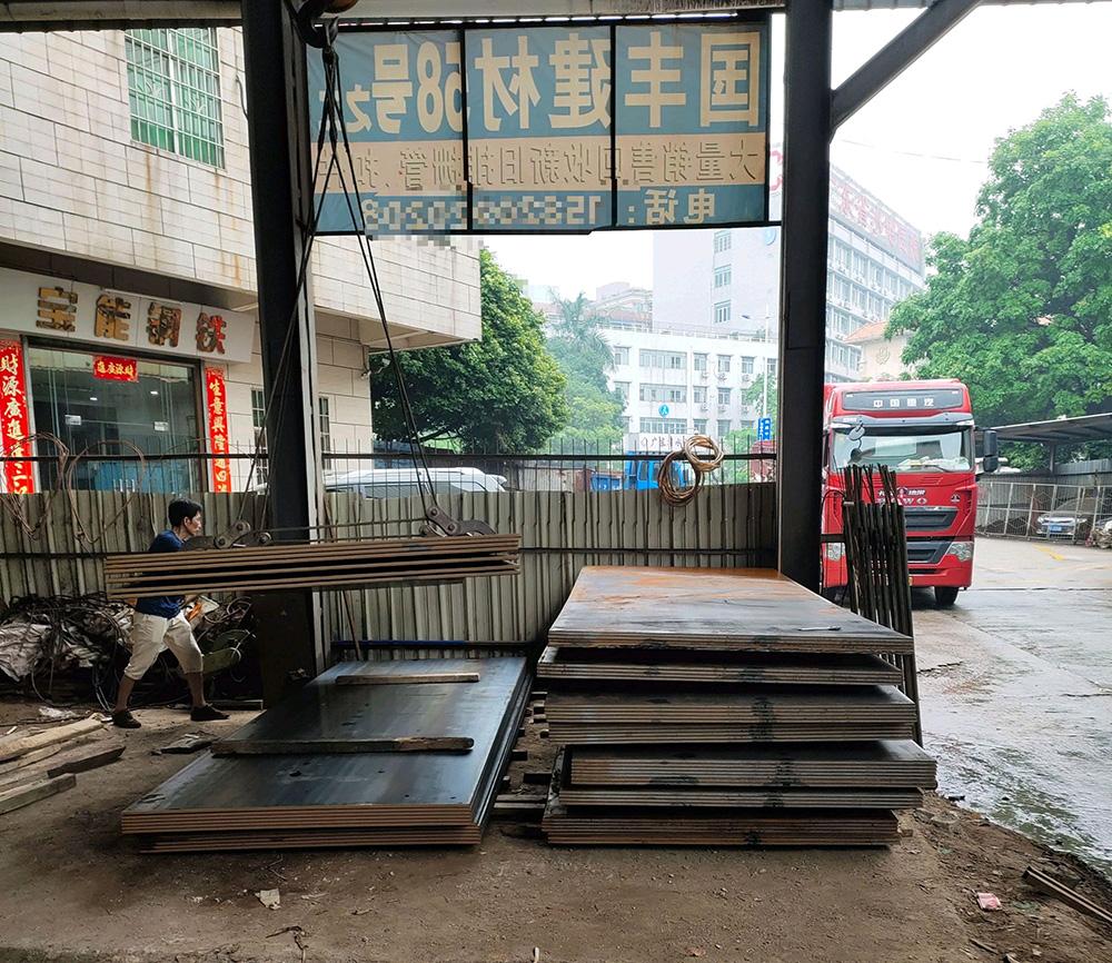 广州铺路钢板租赁